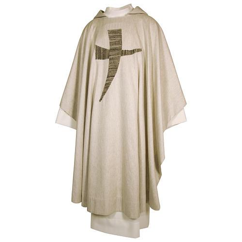 Casula San Francesco tau stilizzato 100% cotone 1
