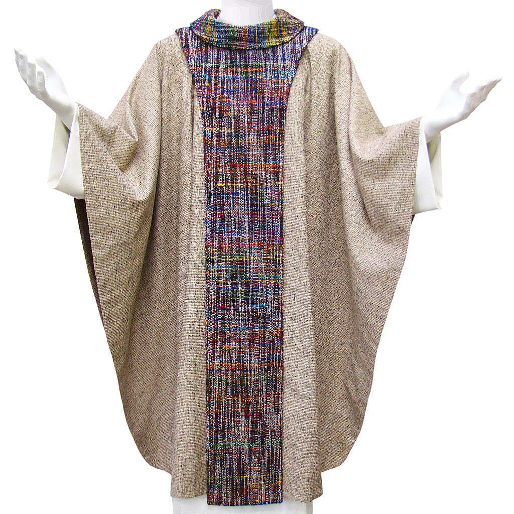 Casula francescana cotone e seta 4