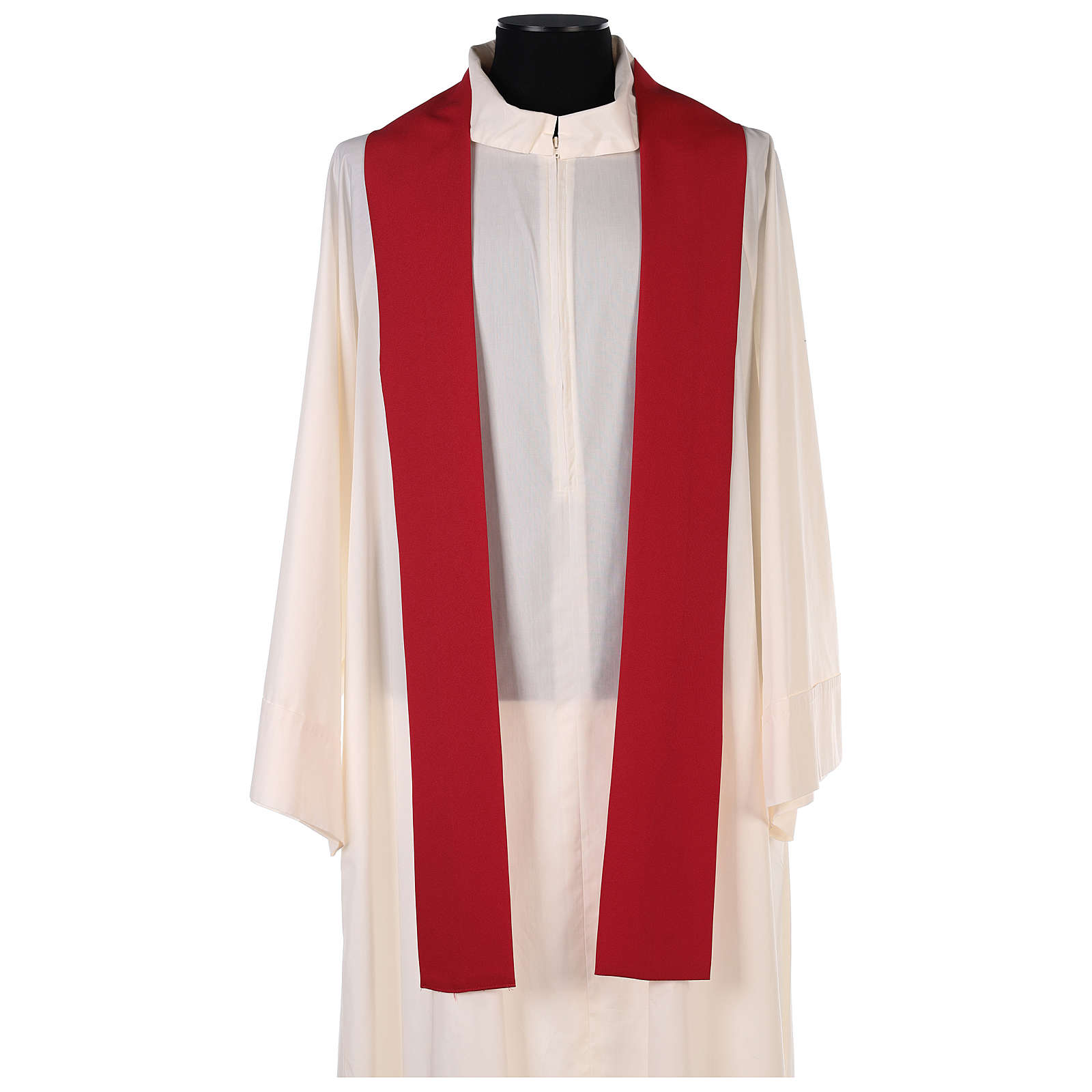 Chasuble in polyester with Cross & Flames 4