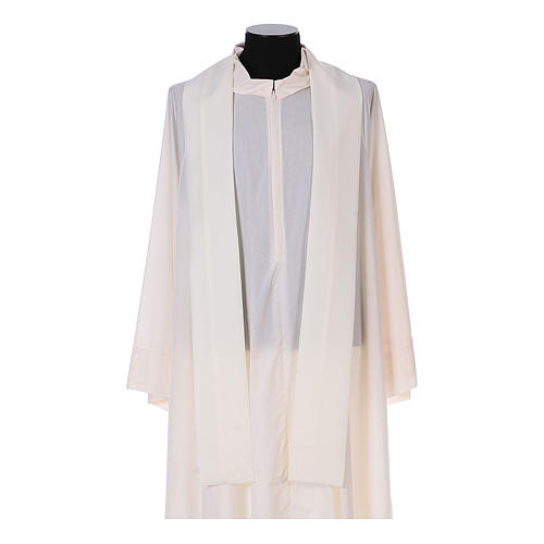 Franciscan chasuble in polyester with Jesus and St.Francis hands 13