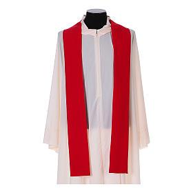 Casulla Franciscana 100% pol. manos de Francisco y Jesús s12