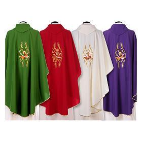 Chasuble franciscaine main de St François et Jésus s2