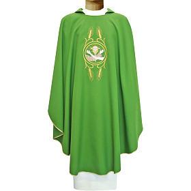 Casula francescana 100% poliestere mano di S.Francesco e Gesù s1