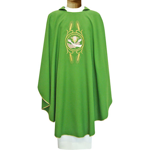 Casula francescana 100% poliestere mano di S.Francesco e Gesù 1