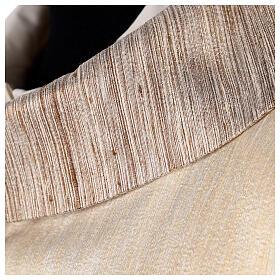 Casula 100% pura lana, riporto 100% seta, 10 vetri Murano s4