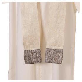 Casula 100% pura lana, riporto 100% seta, 10 vetri Murano s10