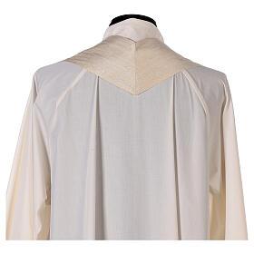 Casula 100% pura lana, riporto 100% seta, 10 vetri Murano s11