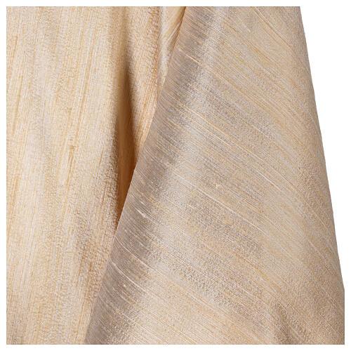 Casula 100% pura lana, riporto 100% seta, 10 vetri Murano 5