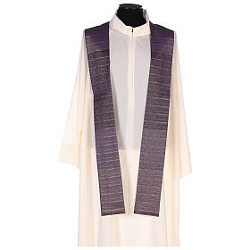 Chasuble in Tasmanian wool with double twisted yarn s6