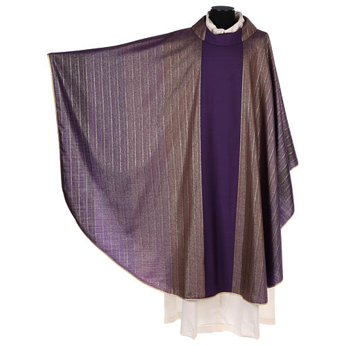 Chasuble in Tasmanian wool with double twisted yarn 3