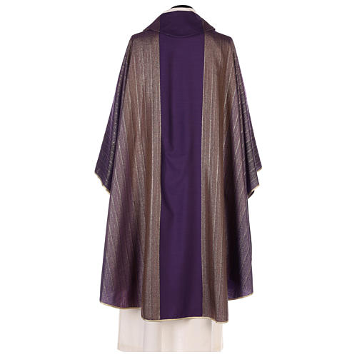 Chasuble in Tasmanian wool with double twisted yarn 5