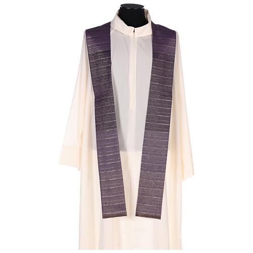 Chasuble in Tasmanian wool with double twisted yarn 6