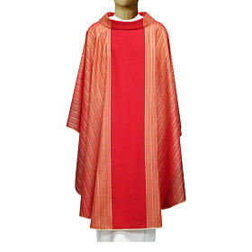 Chasuble in Tasmanian wool with double twisted yarn s3