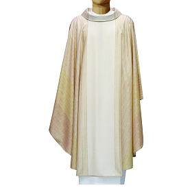 Chasuble in Tasmanian wool with double twisted yarn s4