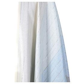 Chasuble dégradé bleu 100% laine double retors Tasmania s4