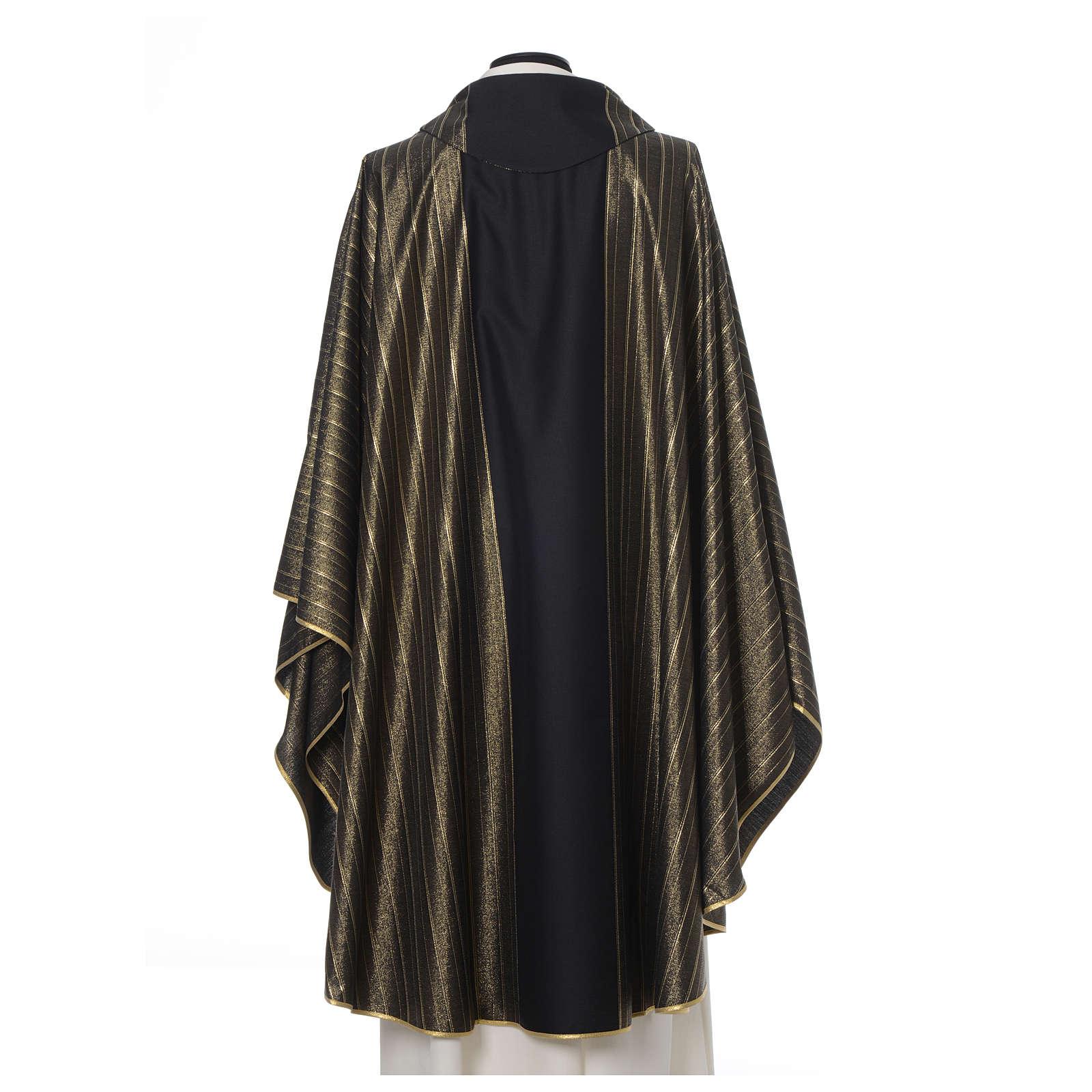 Casula nera pura lana vergine doppio ritorto Tasmania 4