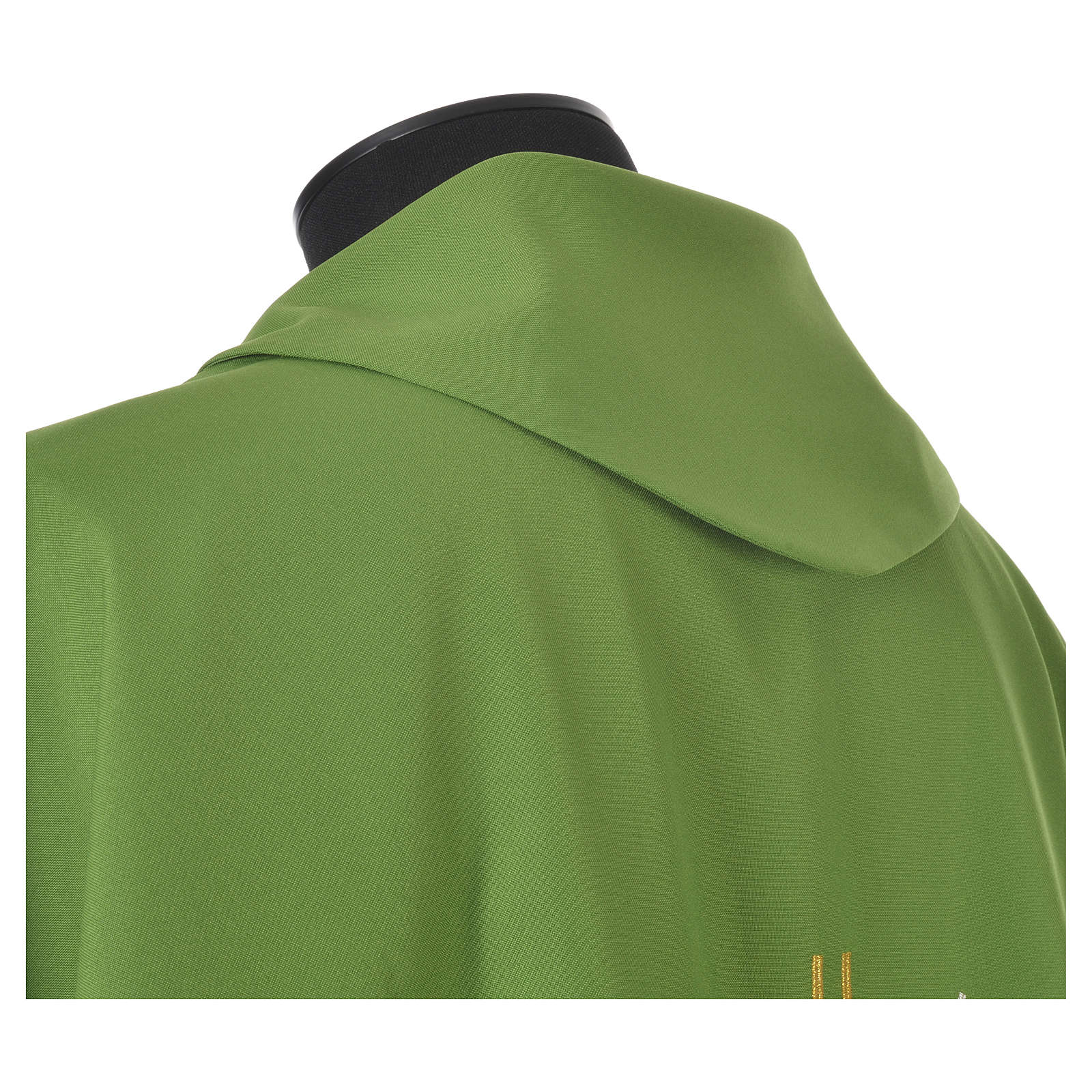 Chasuble croix stylisée avec rayons 100% polyester 4