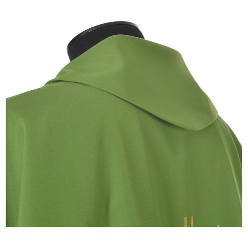 Chasuble croix stylisée avec rayons 100% polyester 7