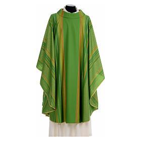 Chasuble liturgique 69% laine vierge double retors Tasmania,22% viscose, 9% polyester s3