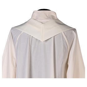 Chasuble in polyester with Chi-Rho and Alpha Omega symbol s6