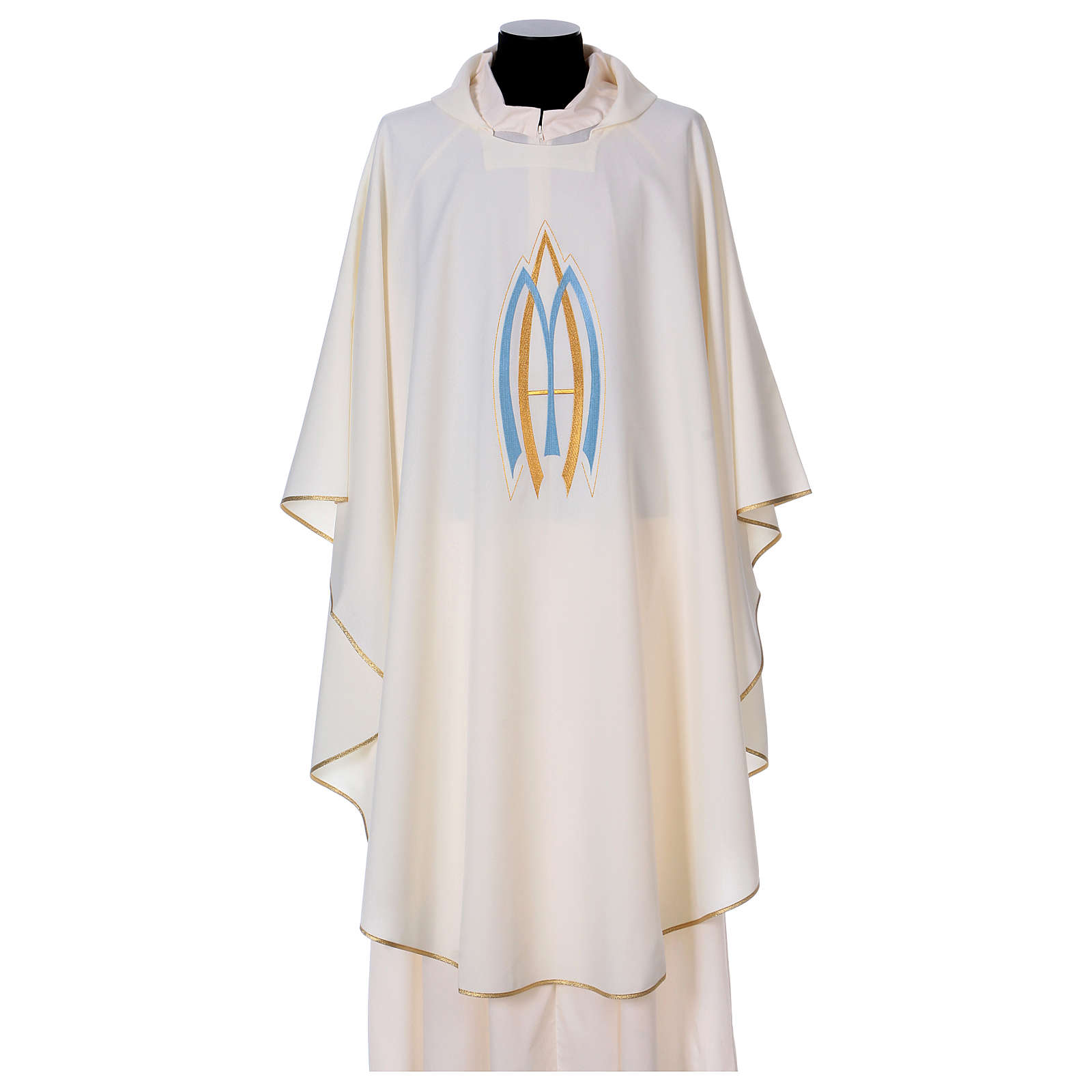 Marian Sacred Chasuble in polyester 4