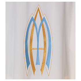 Marian Sacred Chasuble in polyester s2