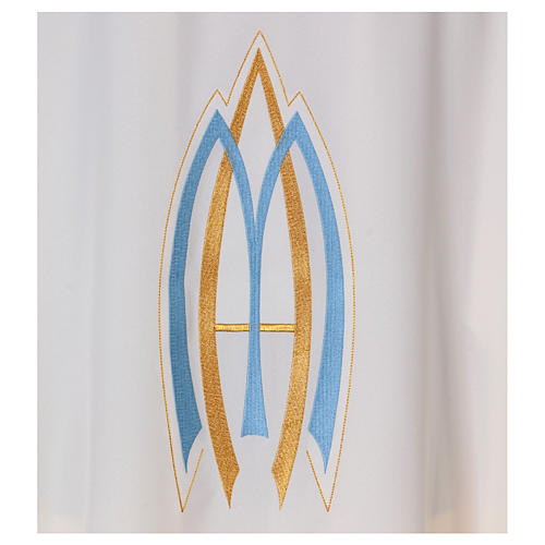 Marian Sacred Chasuble in polyester 2