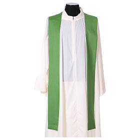 Catholic Priest Chasuble in pure wool with embroidered galloon s4