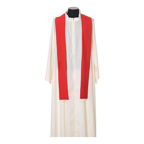 Chasuble 100% polyester IHS croix épis 10