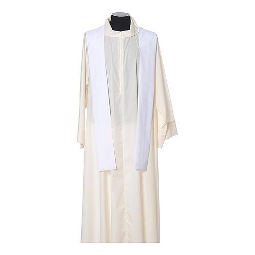 Chasuble 100% polyester IHS croix épis 11