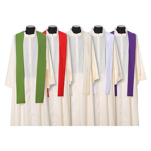 Chasuble 100% polyester IHS croix épis 12