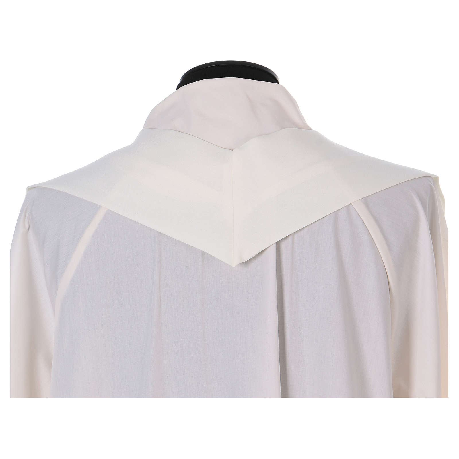 Chasuble 100% polyester symboles Alpha et Oméga 4