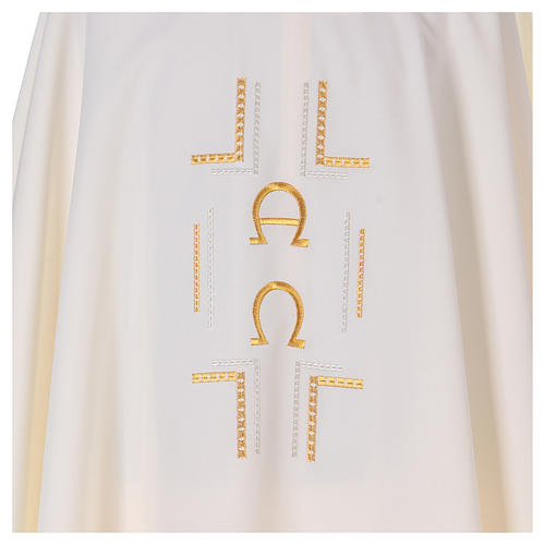 Alpha Omega Priest Chasuble in polyester 2