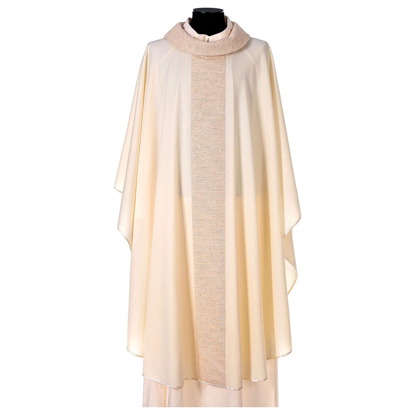 Casula 100% pura lana con riporto 100% pura seta 4
