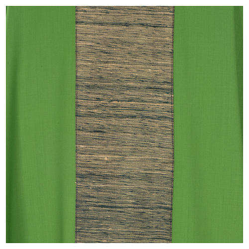 Casula 100% pura lana con riporto 100% pura seta 7