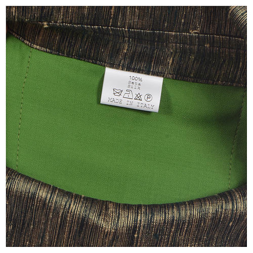 Casula 100% pura lana con riporto 100% pura seta 10