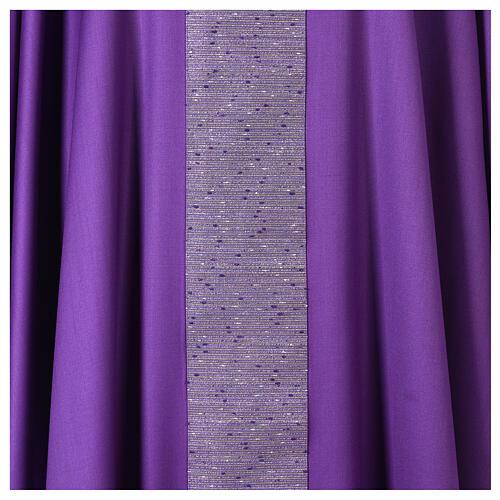 Casula 100% pura lana con riporto 100% pura seta 2