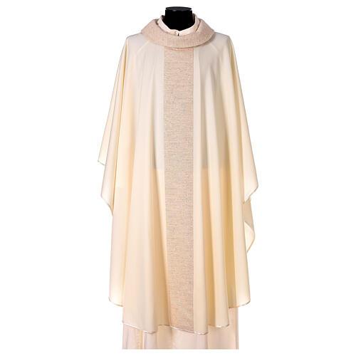 Casula 100% pura lana con riporto 100% pura seta 6