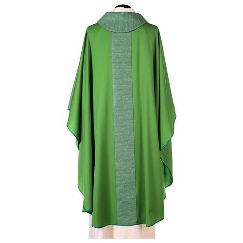 Casula 100% pura lana con riporto 100% pura seta 8