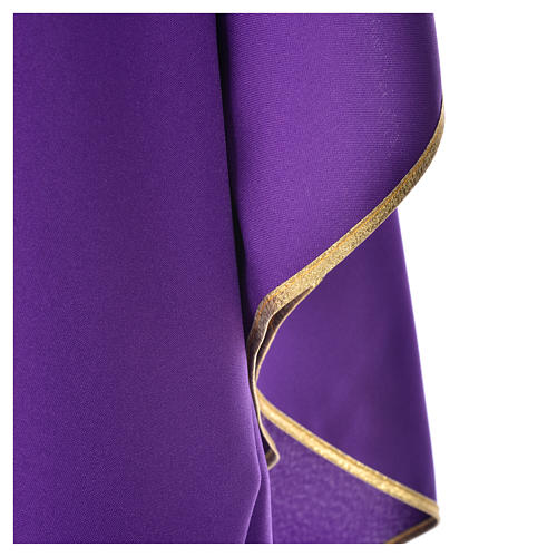 Chasuble 100% polyester brillant Chi-Rho 4