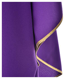 Chi-Rho Chasuble in shiny polyester s4