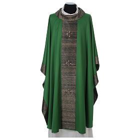 Casula 100% pura lana con riporto 100% pura seta 16 pietre di ag s1