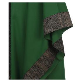 Casula 100% pura lana con riporto 100% pura seta 16 pietre di ag s4