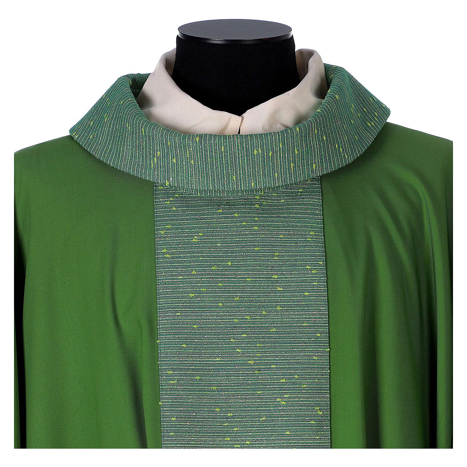 Casula 100% pura lana e riporto 100% in pura seta 4