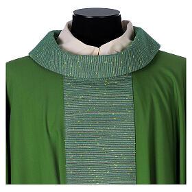 Casula 100% pura lana e riporto 100% in pura seta s2