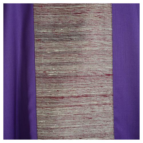 Casula 100% pura lana e riporto 100% in pura seta 7