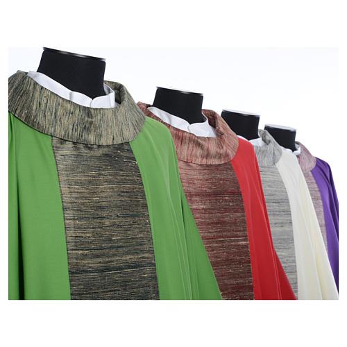 Casula 100% pura lana e riporto 100% in pura seta 8