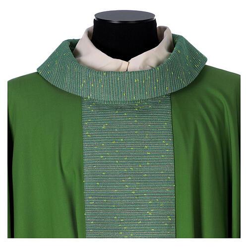 Casula 100% pura lana e riporto 100% in pura seta 2
