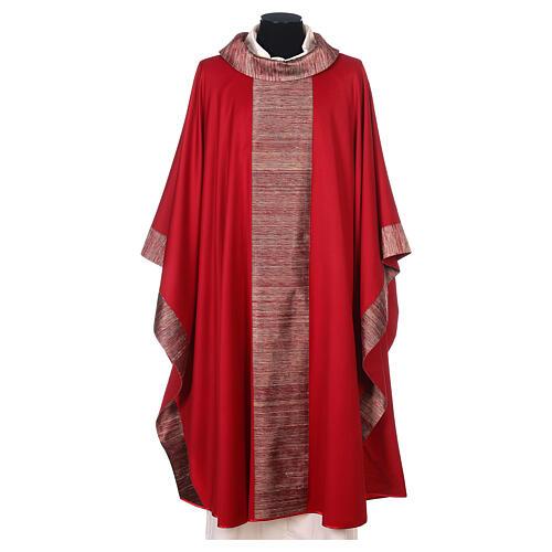 Casula 100% pura lana e riporto 100% in pura seta 5