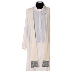 Casulla 100% lana, decoración central en 100% seda s4